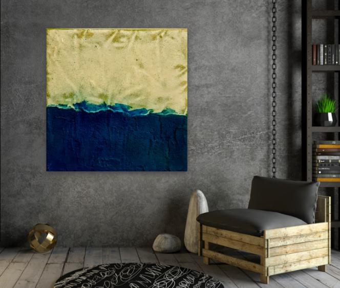 Wandbild, Acryl, original, unikat, Atelier, Galerie, Krönes, Unikum