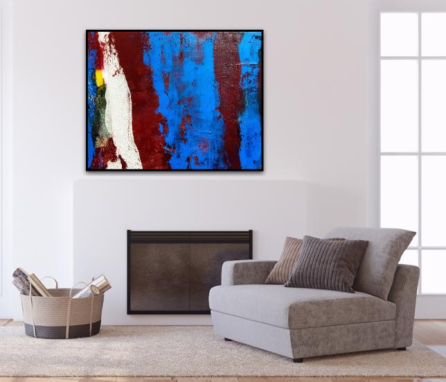 Acrylbilder kaufen, Galerie, Malerei, Blau, Künstler